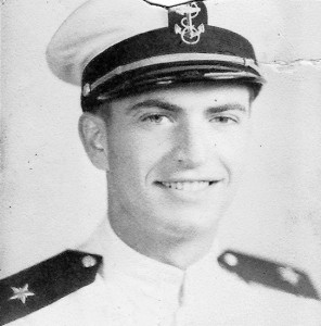Zanger in US Navy uniform